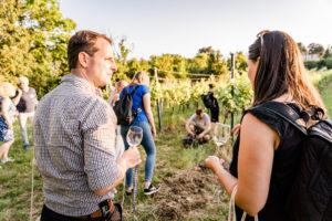 InterACTION Networking Walk & Talk Weinwandern